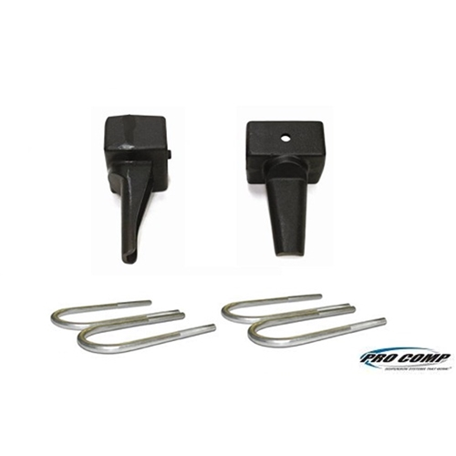 Pro Comp Suspension BLOCK KIT REAR 1.0IN