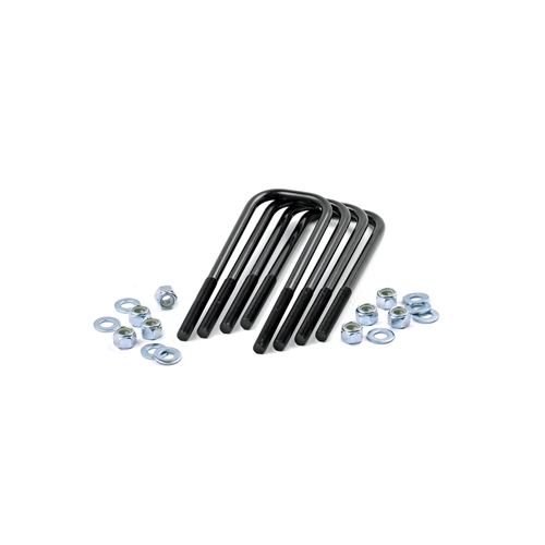 Rough Country 5//8 Round Suspension U-Bolts 3.625 x 17.5 7649